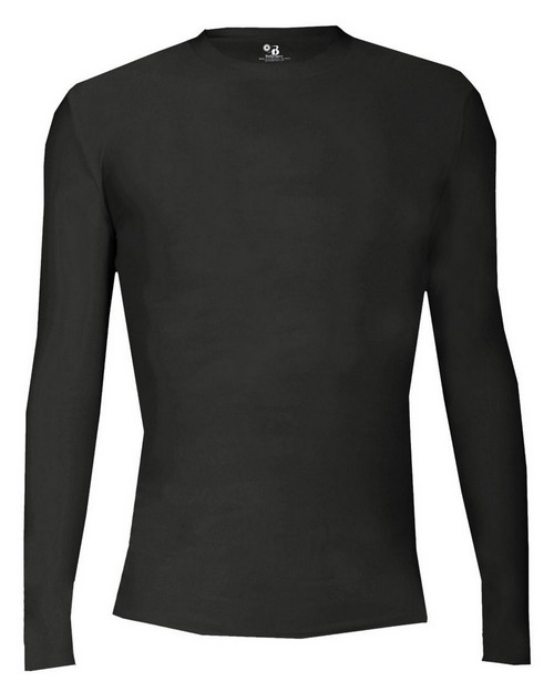 Badger B4605 Adult Pro-Compression Long Sleeve Crew