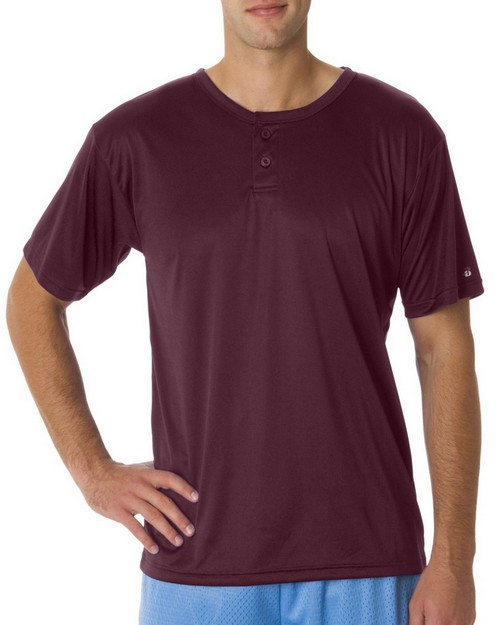 Badger B7930 Adult B Dry Core Placket Tee
