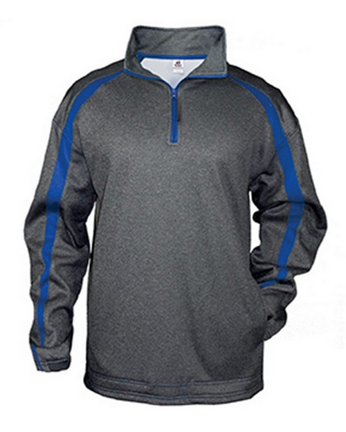Badger BD1481 Fusion Adult Quarter-Zip Pullover