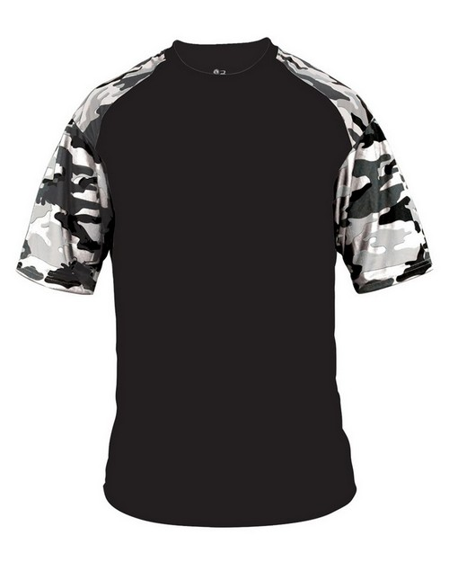 Badger BD2141 Camo Sport Youth Tee