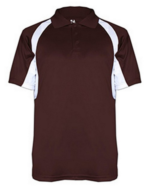 Badger BD3344 Hook Adult Polo