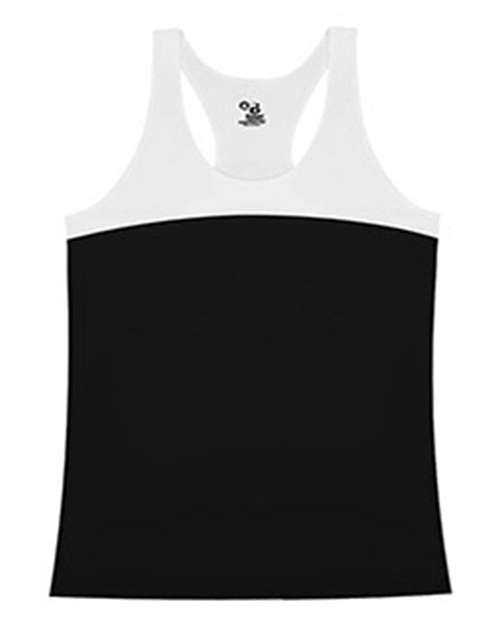 Badger BD4136 Ladies Racerback Double Back Tank