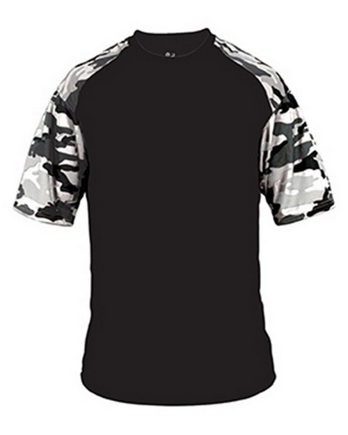 Badger BD4141 Camo Sport Adult Tee