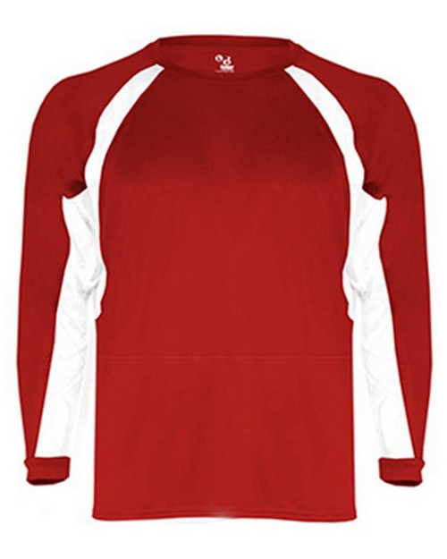 Badger BD4154 Hook Adult Long Sleeve Tee
