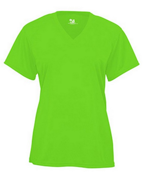 Badger BD4162 B-Core Ladies Short Sleeve V-Neck Tee
