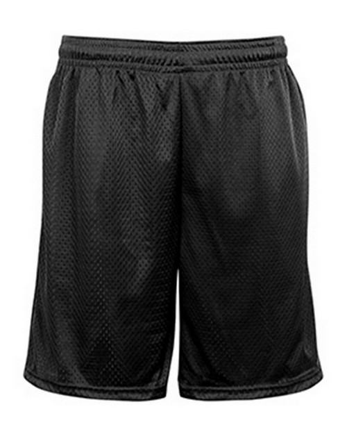Badger BD7219 Adult Pocketed Mesh Short