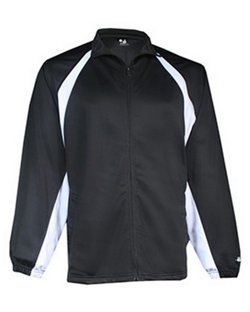 Badger BD7702 Hook Adult Brushed Tricot Jacket