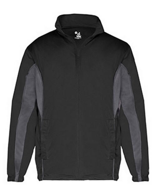 Badger BD7703 Drive Adult Brushed Tricot Jacket