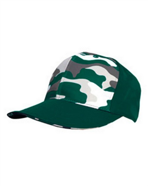 Badger S326 Camo Front Panel Hat