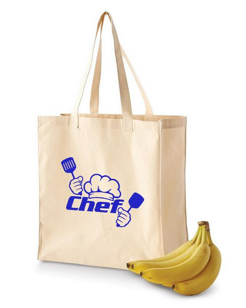 BAGedge BE055 Canvas Grocery Tote 6oz