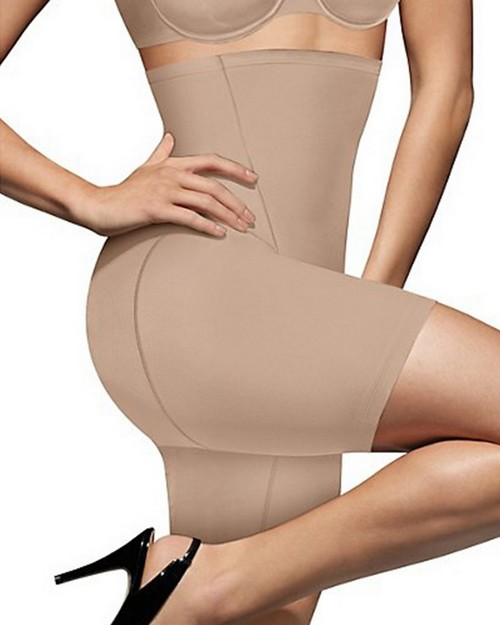 Bali 8097 One Smooth U High Waist Thigh Shaper with Cool Comfort Design