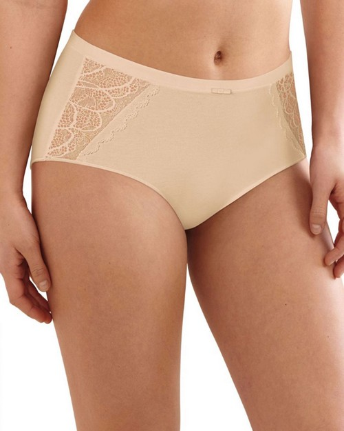 Bali DFCD61 Lace Desire Cotton Brief