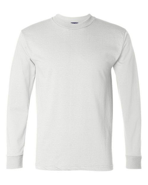 Bayside 2955 Mens Bay Union-Made Long Sleeve T-Shirt