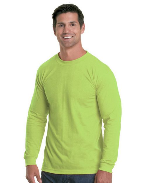 Bayside 5360 Men Long Sleeve Performance T-Shirt