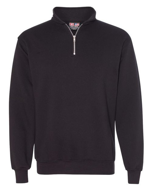 Bayside 920 USA-Made Quarter-Zip Pullover Sweatshirt