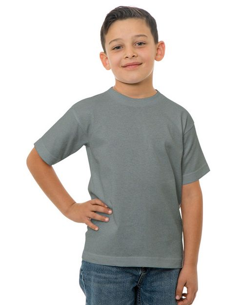 Bayside BA4100 Youth 6.1 oz.; 100 % Cotton T-Shirt