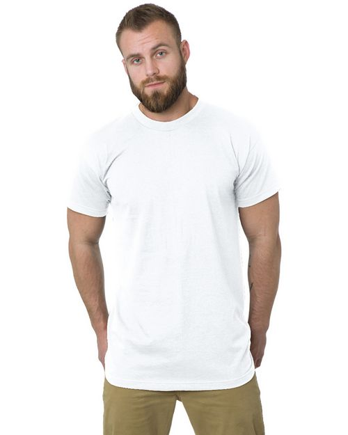 Bayside BA5200 Men Tall 6.1 oz.; Short Sleeve T-Shirt