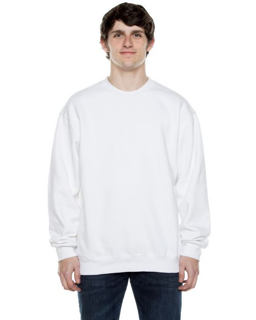Beimar F100 Unisex 10 oz. 80/20 Cotton/Poly Crew Neck Sweatshirt