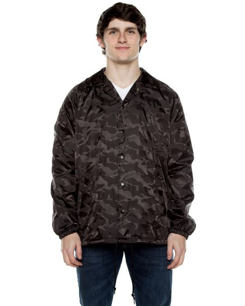 Beimar WB103D Unisex Nylon 3-Dimensional Coaches Jacket