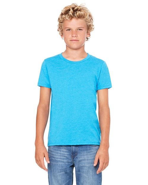 Bella + Canvas 3001Y Youth Jersey Short-Sleeve T-Shirt