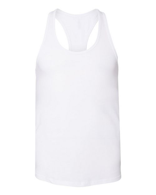 Bella + Canvas 6008 Womens Jersey Racerback Tank
