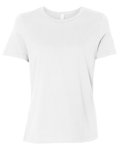 Bella + Canvas 6400 Womens Relaxed Short Sleeve Jersey Tee