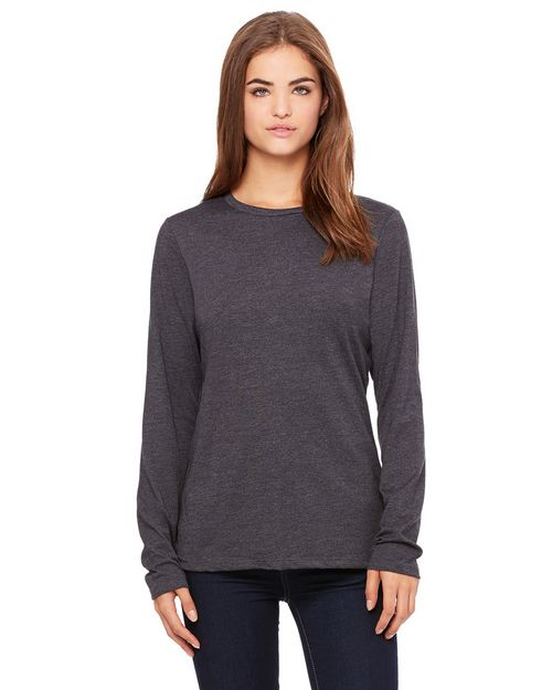 Bella + Canvas 6450 Ladies Relaxed Jersey Long-Sleeve Tee