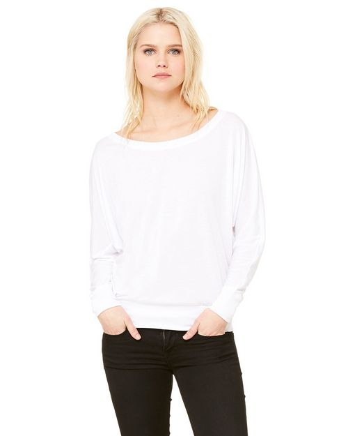 Bella + Canvas 8850 Ladies Elizabeth Long-Sleeve Dolman Top