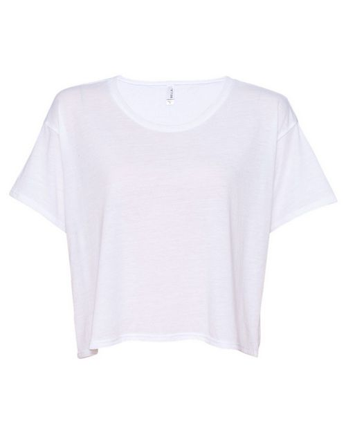 Bella + Canvas 8881 Womens Flowy Boxy Tee