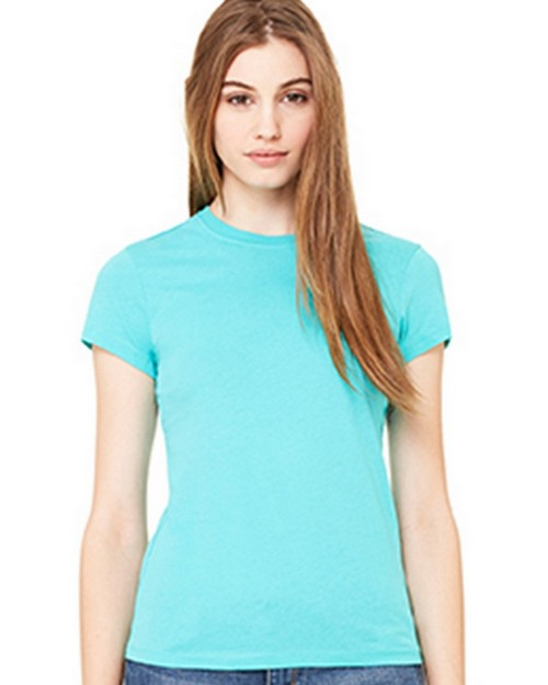 Bella + Canvas B6000 Womens Jersey Short Sleeve Tee