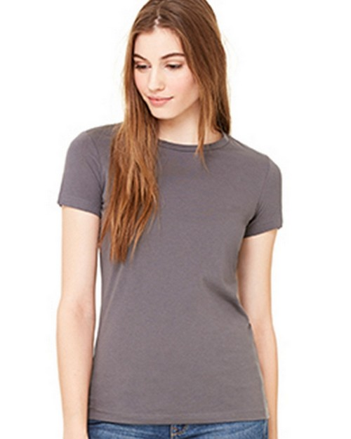 Bella + Canvas B6650 Womens Poly-Cotton Short Sleeve Tee
