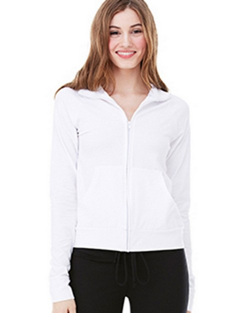 Bella + Canvas B807 Womens Cotton Spandex Cadet Jacket