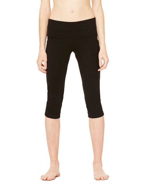 Bella + Canvas B811 Womens Cotton Spandex Capri Fit Legging