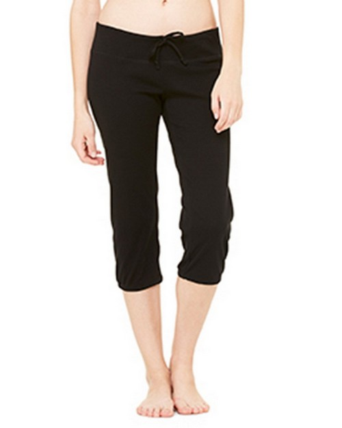 Bella + Canvas B816 Womens Capri Scrunch Pant