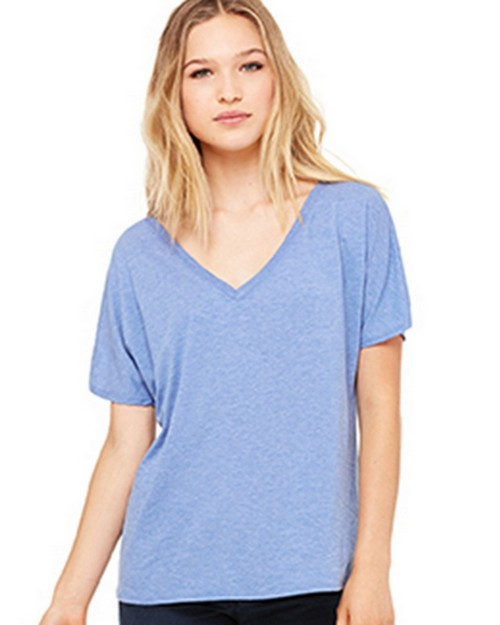 Bella + Canvas B8815 Womens Slouchy V-Neck Tee