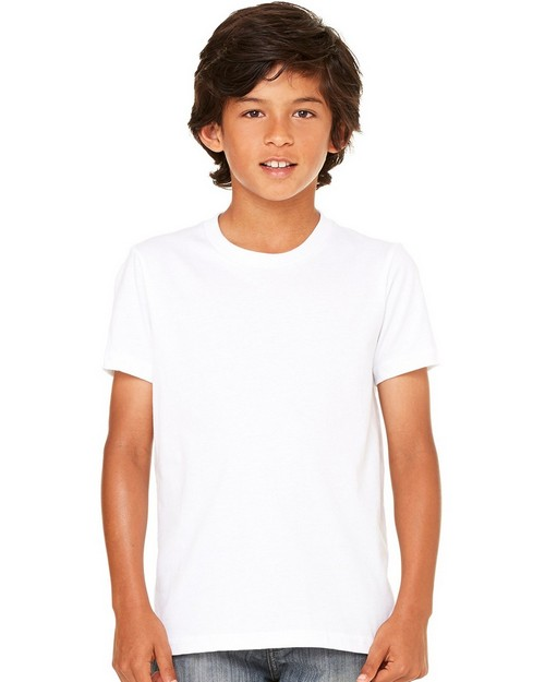 Bella + Canvas C3001Y Youth Jersey Short Sleeve Tee