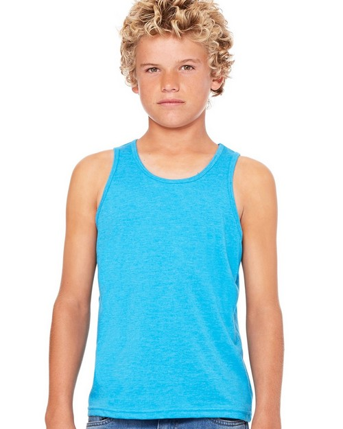Bella + Canvas C3480Y Youth Jersey Tank