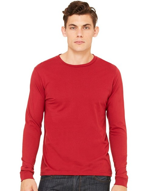Bella + Canvas C3501 Mens Jersey Long Sleeve Tee