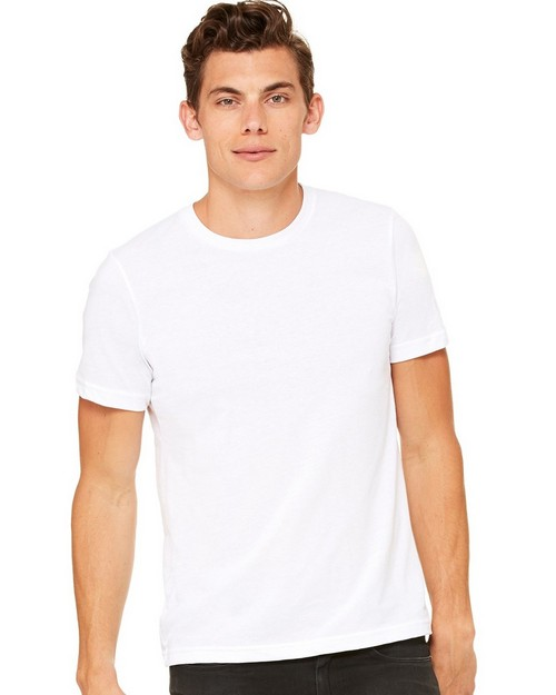 Bella + Canvas C3650 Unisex Poly-Cotton Short Sleeve Tee
