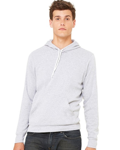 Bella + Canvas C3719 Unisex Poly-Cotton Fleece Pullover Hoodie