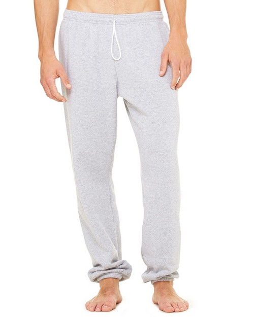 Bella + Canvas C3737 Unisex Poly-Cotton Fleece Long Scrunch Pant