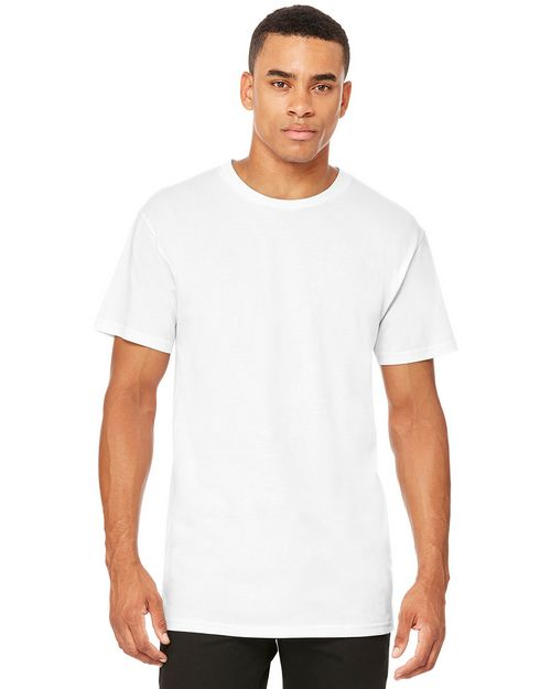 Bella + Canvas BC3006 Mens Long Body Urban Tee