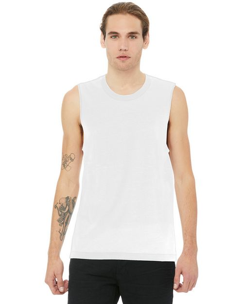 Bella + Canvas BC3483 Unisex Jersey Muscle Tank