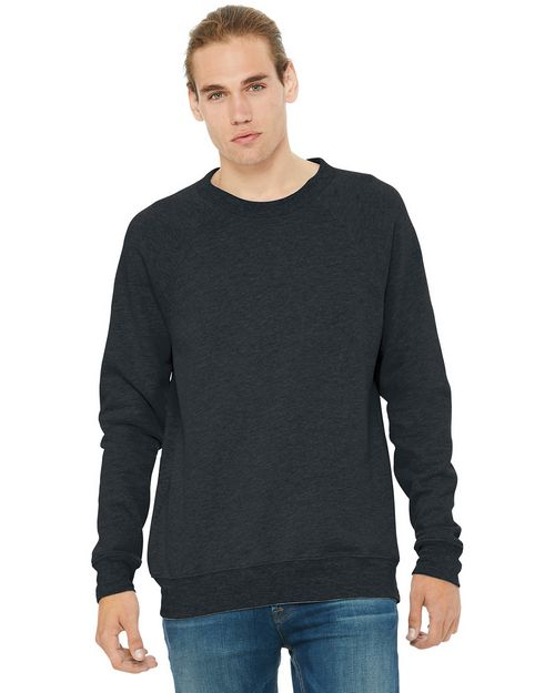 Bella + Canvas BC3901 Unisex Sponge Fleece Raglan Sweatshirt