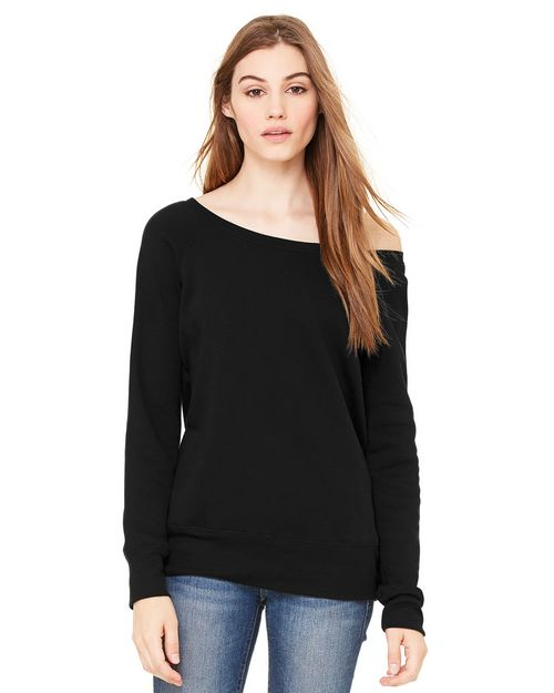 Bella + Canvas BC7501 Womens Sponge Fleece Sweatshirt
