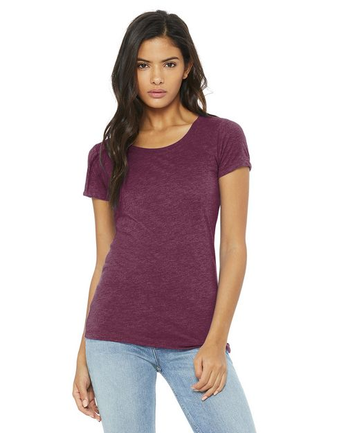 Bella + Canvas BC8413 Womens Triblend Tee