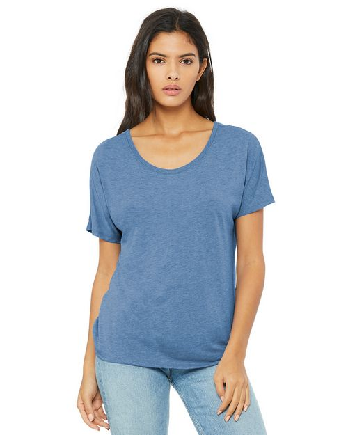 Bella + Canvas BC8816 Womens Slouchy Tee