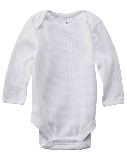 Bella + Canvas 103 Infants' Long-Sleeve Thermal One-Piece