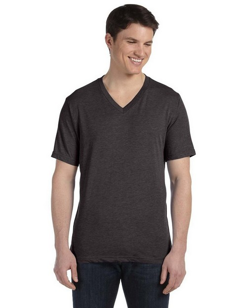 Bella + Canvas 3415C Men's Triblend Short-Sleeve V-Neck T-Shirt