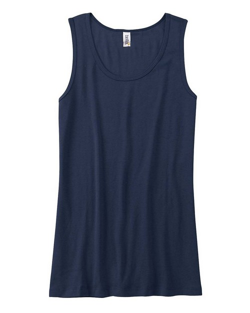 Bella + Canvas 6480 Ladies Missy Widestrap Baby Rib Tank